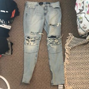 Other - means ripped jeans